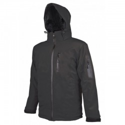 Jacheta cu gluga, Spirit Softshell negru - ARDON