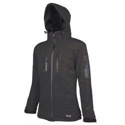 Jacheta de dama cu gluga, Anima negru - ARDON