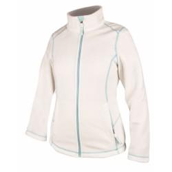 Jacheta alba din fleece pentru dama, Yvonne - ARDON