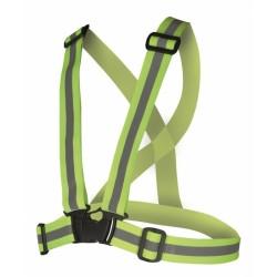 Bretele elastice reflectorizante REF, galben - ARDON