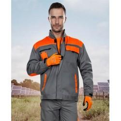 Jacheta de lucru 2STRONG gri/portocaliu - ARDON