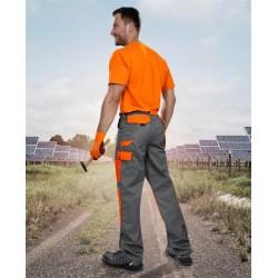 Pantaloni de lucru 2STRONG gri/portocaliu - ARDON