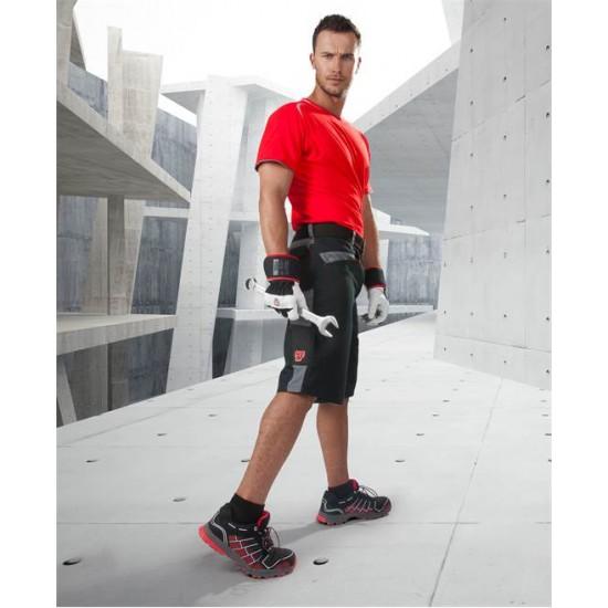 Pantaloni scurti de lucru R8ED, 65% poliester - 35% bumbac, 245gr/mp - ARDON