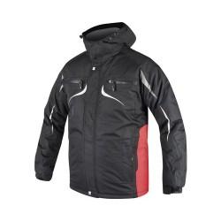 Jacheta de lucru Ardon Philip Winter negru/rosu