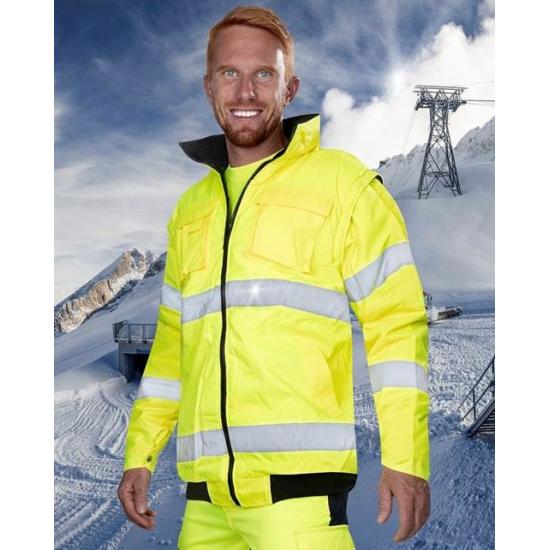 Jacheta de iarna reflectorizanta, 2 in 1 - Howard Reflex