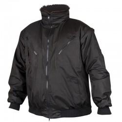 Jacheta de iarna imblanita Howard 3 in 1 Negru
