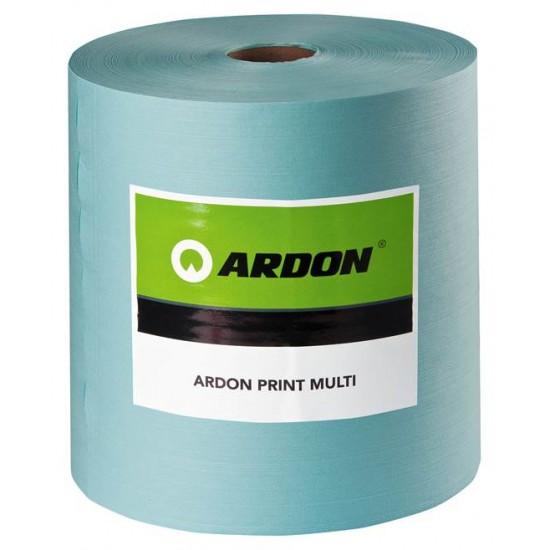 Laveta industriala Ardon PRINT MULTI, 32x38cm, 500buc, turcoaz - ARDON