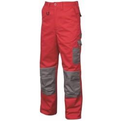Pantaloni de lucru 2STRONG rosu/gri - ARDON