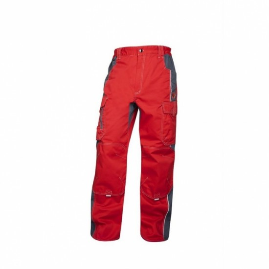 Pantaloni de lucru rosu/gri Vision - ARDON