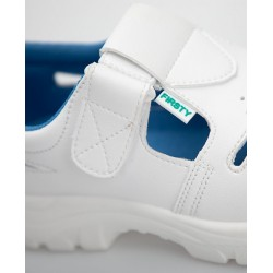Sandale albe VOG S1 SRC PU2D BM - ARDON