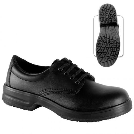 Pantofi de protectie din microfibra cu bombeu metalic - Marjoram S1 SRC