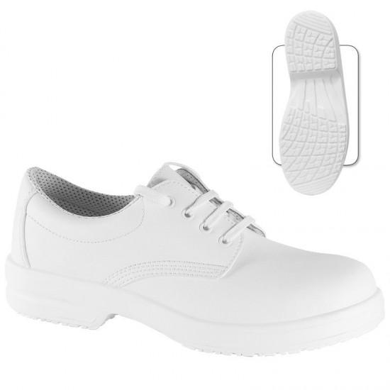 Pantofi de protectie din microfibra cu bombeu metalic - Narcissus S1 SRC