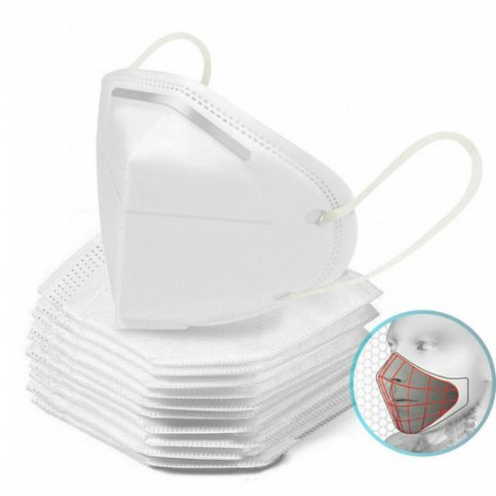 5 x Mască de protecție facială KN95 = FFP2 = N95 in 4 straturi