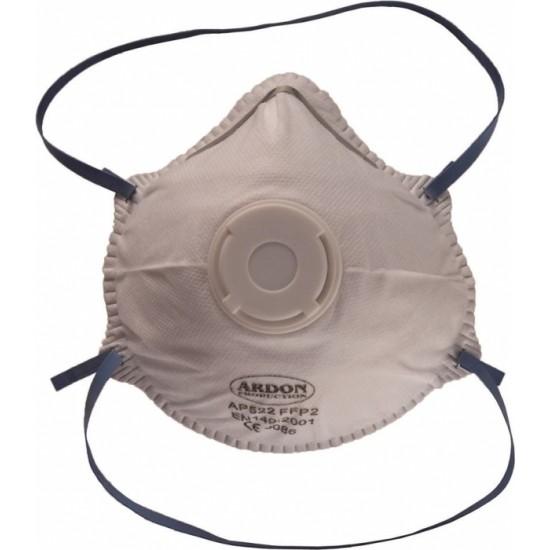 Mască de protecție facială, semimască cu supapă FFP2 =  KN95 = N95 AP522 SUPAPA 13 4G