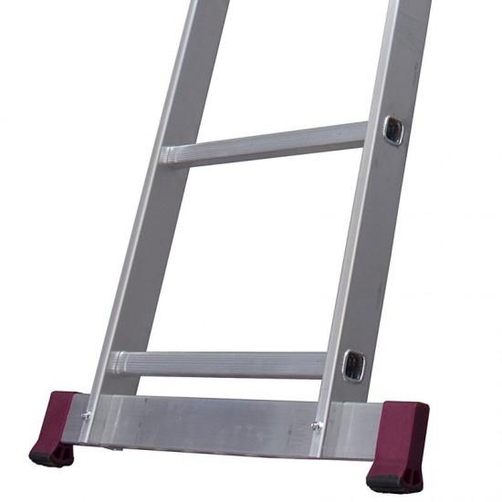 Scara simpla din aluminiu Corda, 12 trepte