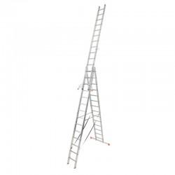 "Scara multifunctionala din aluminiu Monto ""Tribilo"", 3x14 trepte"