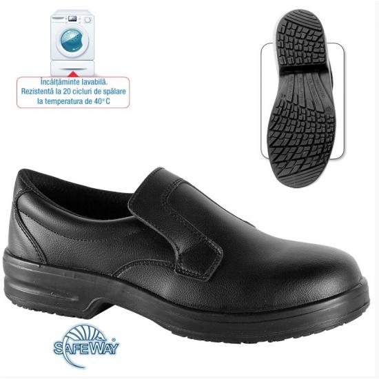 Pantofi de protectie din microfibra cu bombeu  - Peony S1 SRC