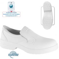 Pantofi de protectie din microfibra cu bombeu metalic - Gladiolus S1 SRC